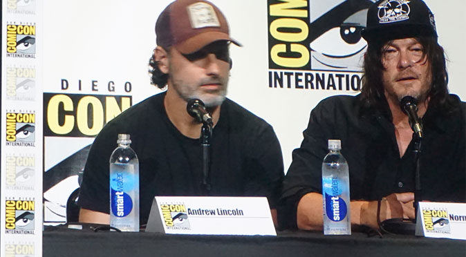 The Walking Dead panel at San Diego Comic Con